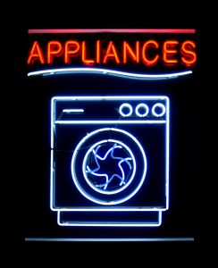 appliances sign
